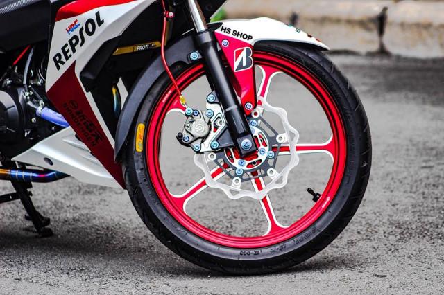Winner 150 do cua nu Biker Sai Gon len y tuong - 6