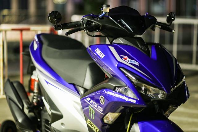 Yamaha Aerox ban do Movistar den tu Thai Lan