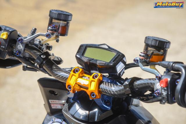Yamaha BWS 125 2018 do dan chan doc nhat vu tru cua biker xu Dai