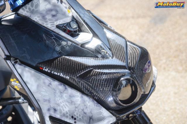 Yamaha BWS 125 2018 do dan chan doc nhat vu tru cua biker xu Dai - 6