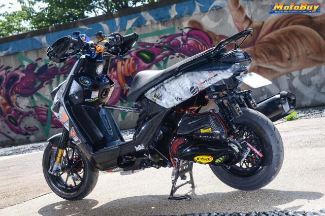 Yamaha BWS 125 2018 do dan chan doc nhat vu tru cua biker xu Dai - 11