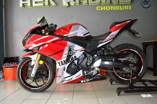 Yamaha R3 ham ho theo phong cach MotoGP - 8