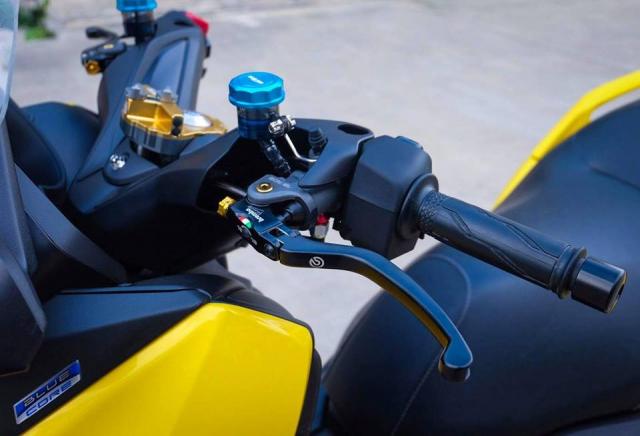 Yamaha XMax300 hoan thien voi nang cap khung - 5