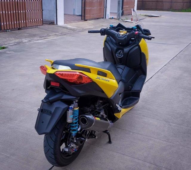 Yamaha XMax300 hoan thien voi nang cap khung - 10