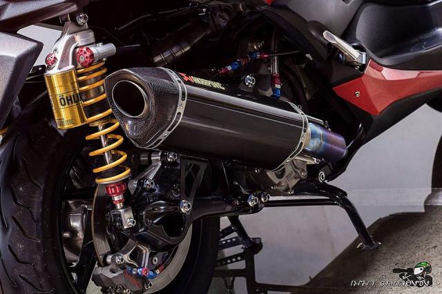 Yamaha XMax300 ruc ro ben dan do khung - 12