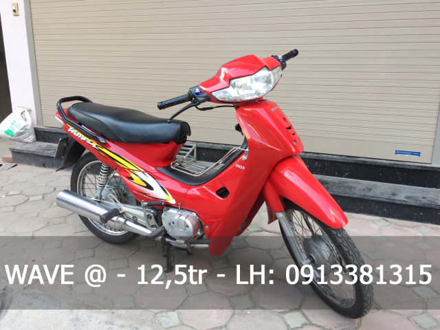 WAVE ALPHA DO CO MAY ZIN CUC CHAT 12TR500