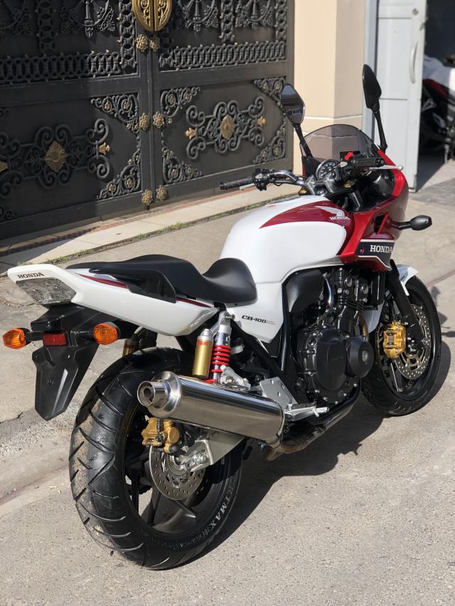 __Can Ban HONDA CB400 Revo ABS Super bol dor DKLD 52016 mau trang do mau moi odo 1900km - 5