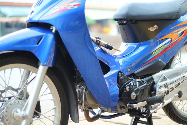 Wave 125 lung linh trong mot ban do cuc chat cua Biker Binh Phuoc - 6