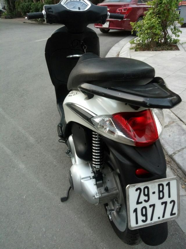 ban Liberty 125ie Trang dki 2012 Vn 29B 19772 gia 23500 trieu chinh chu nu dang sd - 5