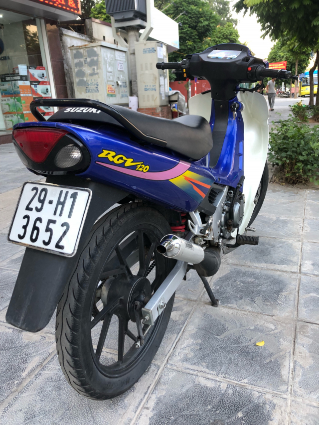 Ban Rgv 120 xipo full moi 99 29H1 xe keeng 6 so 29500 trieu cho ae sanh choi xe thuong thuc - 4