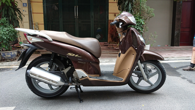 ban xe Honda Sh 150i nau cafe dung doi 2009 may nguyen thuy 73tr - 2