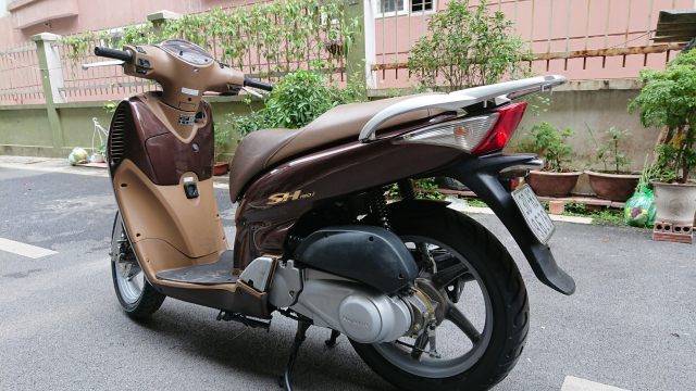 ban xe Honda Sh 150i nau cafe dung doi 2009 may nguyen thuy 73tr - 3