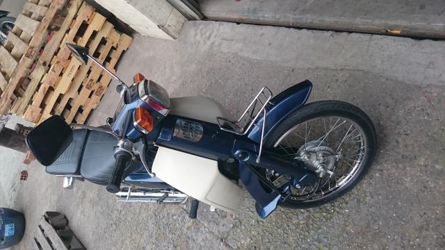 Honda Cub Custom 50 nhu moi - 3