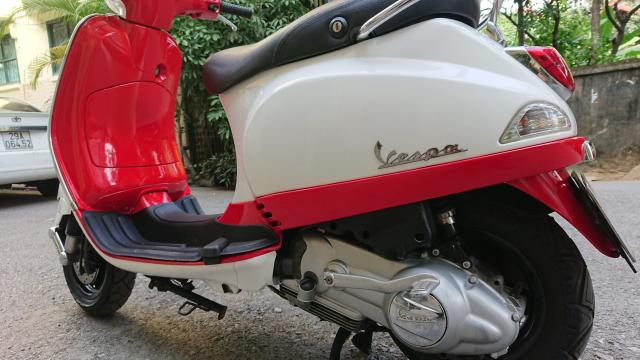Can ban Vespa Lx125 2010 khoa chip tu Do trang Sport sanh dieu - 5
