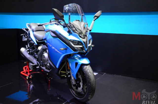CF Moto cong bo 4 mo hinh tai Motor Expo 2018 voi gia khoi diem tu 61 trieu VND