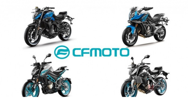 CF Moto cong bo 4 mo hinh lan dau tien tai Motor Expo 2018
