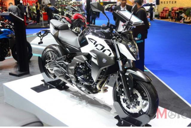CF Moto cong bo 4 mo hinh lan dau tien tai Motor Expo 2018 - 4