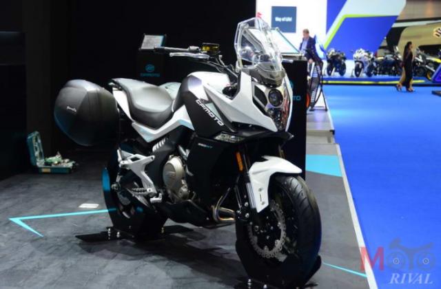 CF Moto cong bo 4 mo hinh lan dau tien tai Motor Expo 2018 - 6