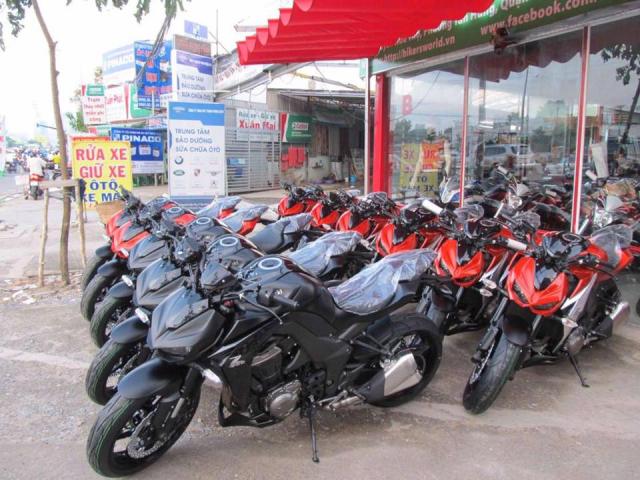 Chuyen thanh Ly Cac loai xe Kawasaki z1000 ABS Nhap khau 2018 Gia re Uy Tin Giao hang Toan Quoc - 4