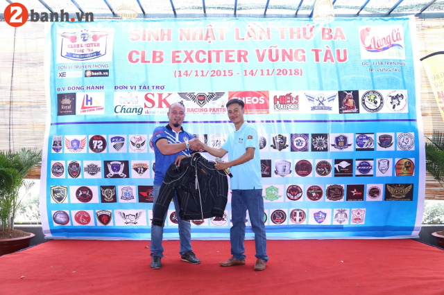 CLB Exciter Vung Tau chay cung dam me trong dai tiec tron III tuoi - 26