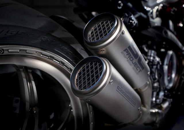 Ducati Monster 1200 phien ban Tricolore tu Motovation - 12