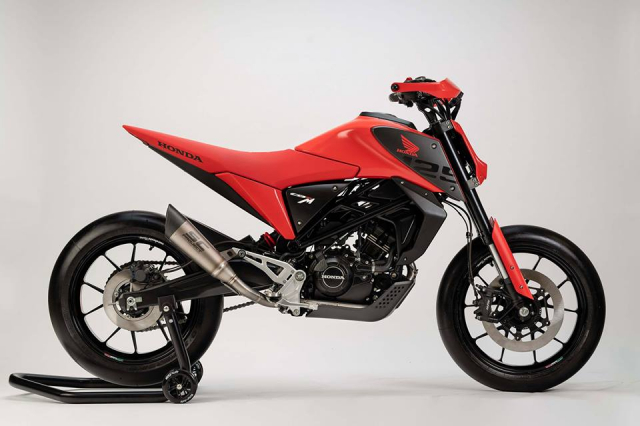 EICMA18 Honda gioi thieu concept CB125M mang phong cach neoretro