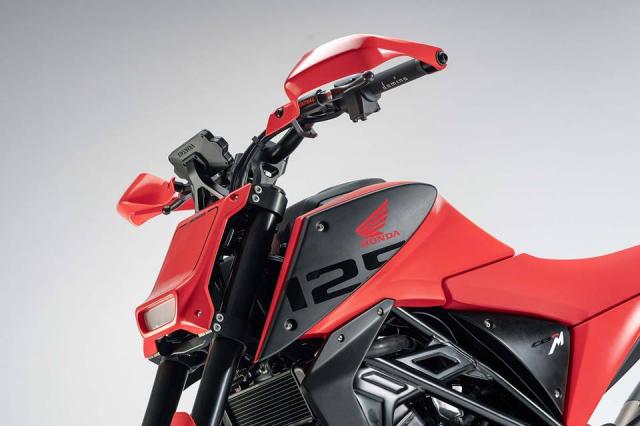EICMA18 Honda gioi thieu concept CB125M mang phong cach neoretro - 6
