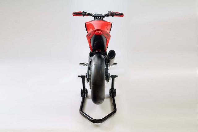 EICMA18 Honda gioi thieu concept CB125M mang phong cach neoretro - 8