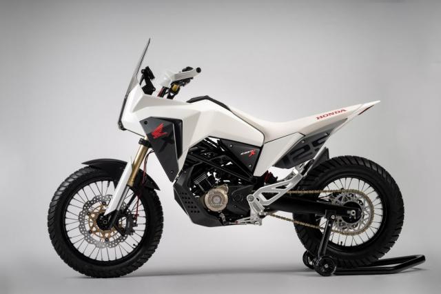 Honda CB125X 2019 quai vat dia hinh co nho danh cho dan tap choi - 3