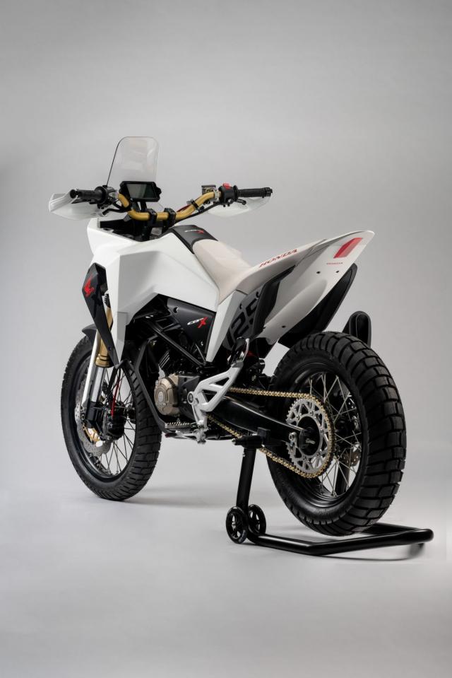 Honda CB125X 2019 quai vat dia hinh co nho danh cho dan tap choi - 8