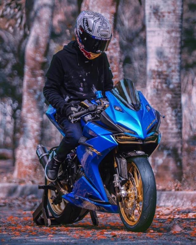 Honda CBR250RR do phong cach xanh Blue tran day hi vong - 6