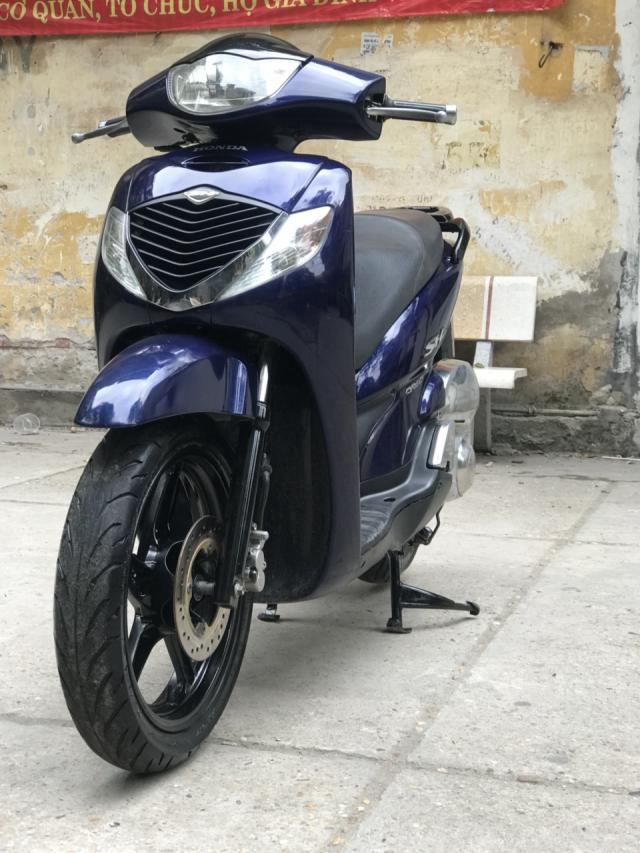HonDa SH 150i nhap khau Y mau xanh 20k9 bien Ha Noi - 3