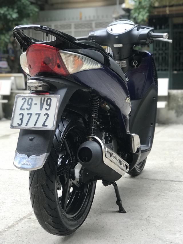 HonDa SH 150i nhap khau Y mau xanh 20k9 bien Ha Noi - 6