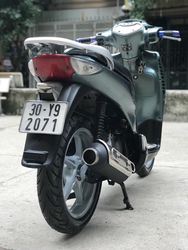 Honda SH mau xanh nhap Y nguyen zin bien 30Y92071 - 3