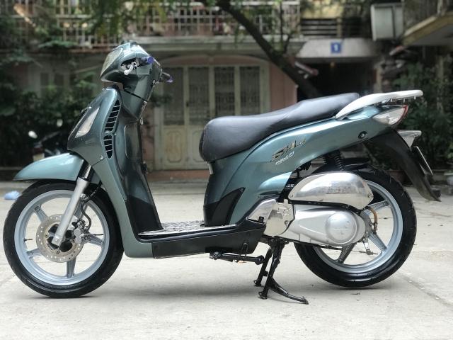 Honda SH mau xanh nhap Y nguyen zin bien 30Y92071 - 2