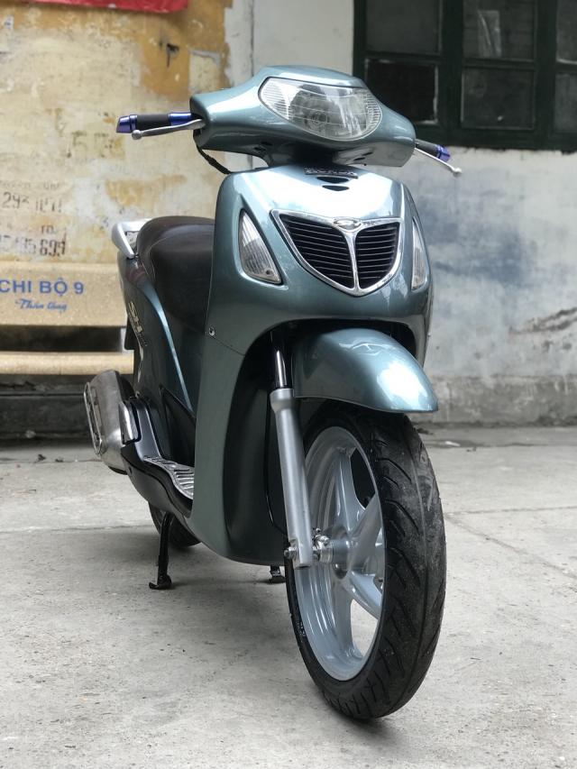 Honda SH mau xanh nhap Y nguyen zin bien 30Y92071 - 6