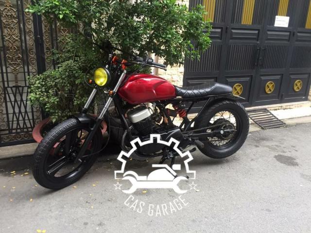 Husky SYM 125cc len tracker CAS garage - 3