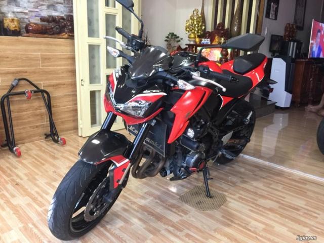 Kawasaki z900 date 2017 hai quan chinh ngach bien so sg dep - 7