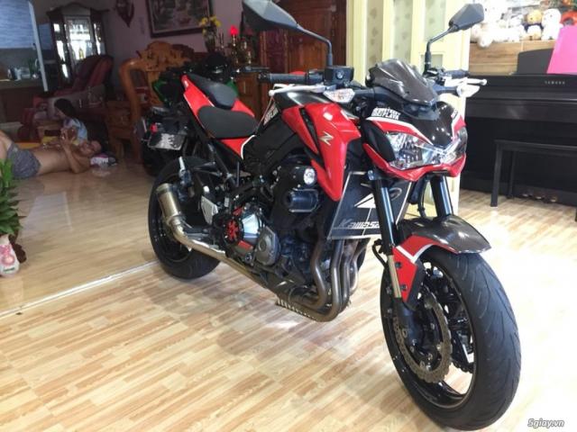 Kawasaki z900 date 2017 hai quan chinh ngach bien so sg dep - 4