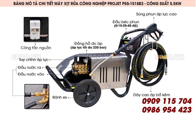 May xit rua cong nghiep Projet P551518B3 Cong suat 55kw - 3