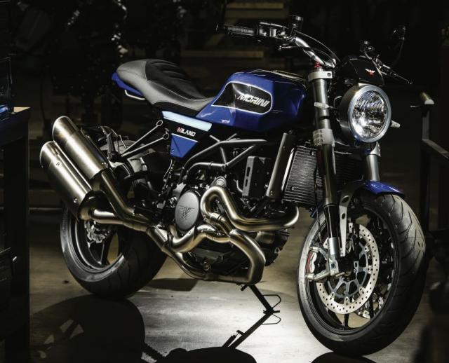 Moto Morini Milano va Corsaro 2019 duoc gioi thieu mang dam thiet ke Scrambler nhung nam 70