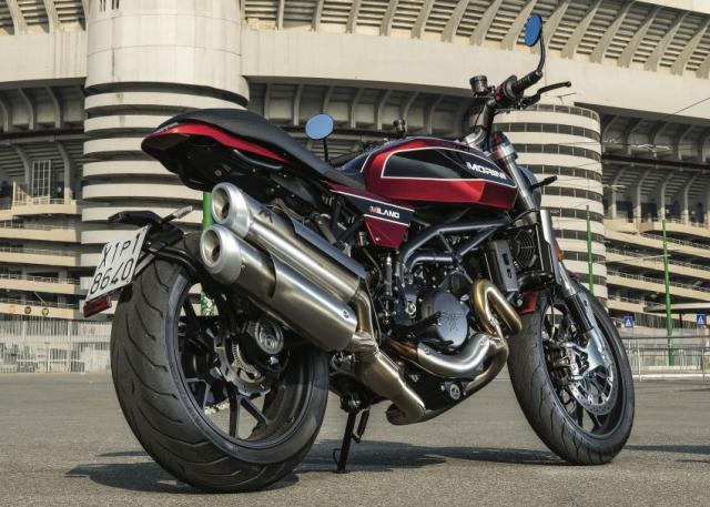 Moto Morini Milano va Corsaro 2019 duoc gioi thieu mang dam thiet ke Scrambler nhung nam 70 - 13