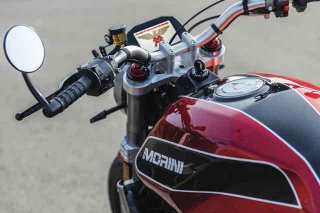 Moto Morini Milano va Corsaro 2019 duoc gioi thieu mang dam thiet ke Scrambler nhung nam 70 - 17