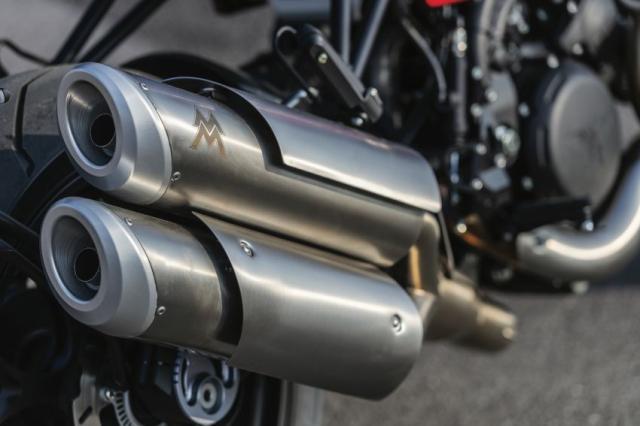 Moto Morini Milano va Corsaro 2019 duoc gioi thieu mang dam thiet ke Scrambler nhung nam 70 - 19