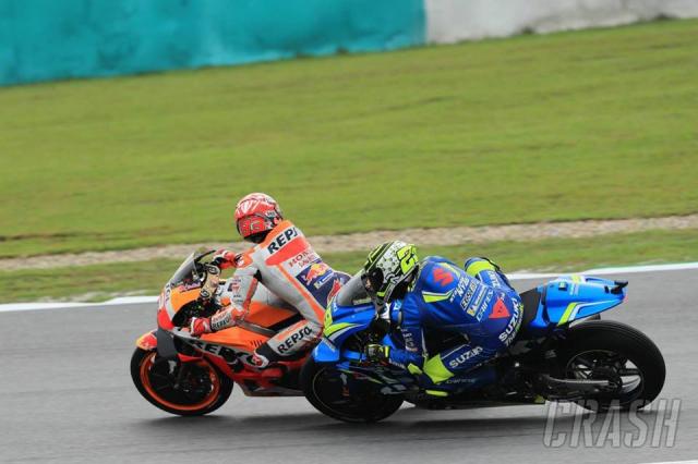 MotoGPChang 18 Tai Malaysia Ky nang can di cung may man