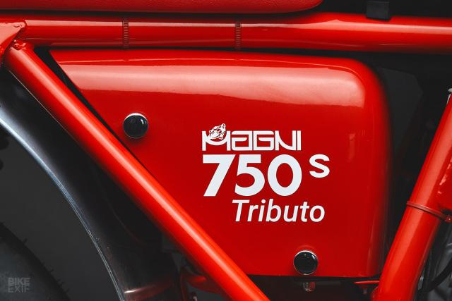 MV Agusta 750S Tributo Phien ban hoi sinh huyen thoai dong xe co dien - 10