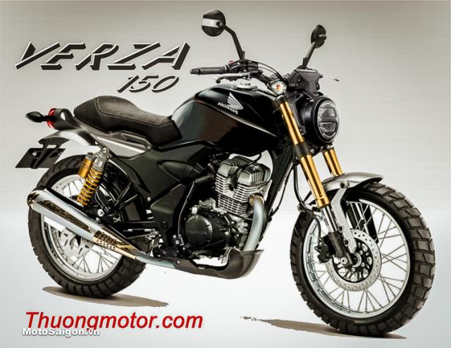 Nang cap xe Honda CB 150 Verza