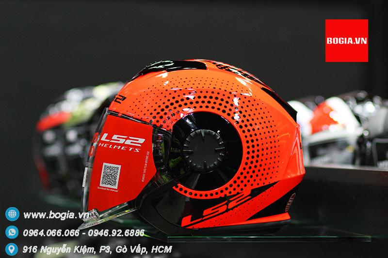 Non Bao Hiem 34 LS2 VERSO OF570 Co 2 Kinh - 5