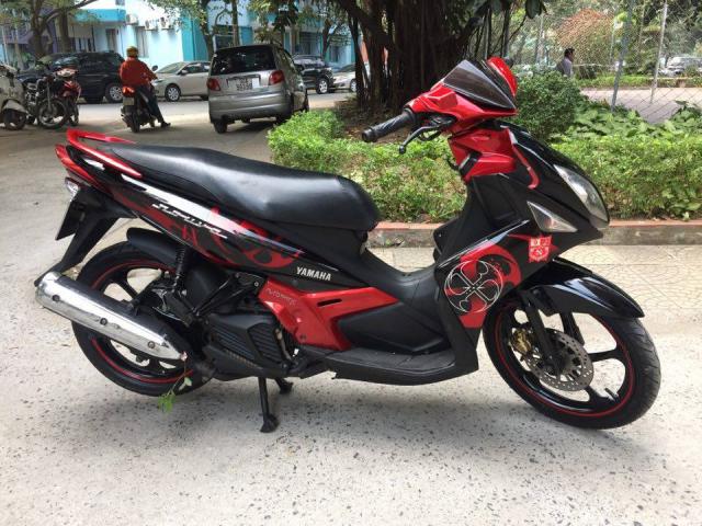 Rao ban xe Yamaha Nouvolx 135 Limited do den rat moi may chay cuc phe - 4