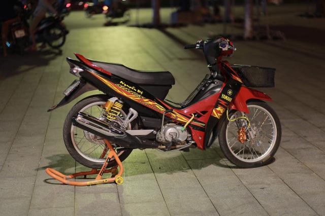 Sirius 110 do dan chan ben nhu luoi lam cua biker Bac Lieu - 7